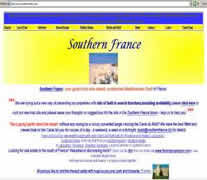 The  best established Southern france rentals site